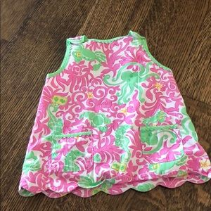 Lilly Pulitzer Octopus Seahorse Dress